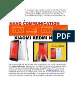 Xiaomi Redmi Note Smartphone Giá Rẻ 8 Nhân