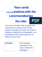Vaylinor Cards Load Combinations With Lenormandkarten - The Rider
