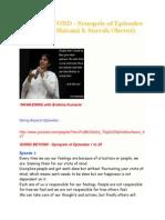 GOING BEYOND - Synopsis of Episodes 1 to 25 ( BK Shivani & Suresh Oberoi)