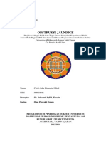 Laporan Kasus Obstruksi Jaundice