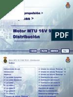 MOTOR MTU 16 V 956 TB 91_04 DISTRIBUCION