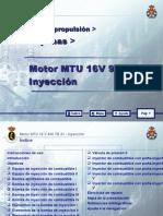 MOTOR MTU 16 V 956 TB 91_05 INYECCION
