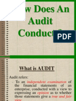 How Does an Audit Conduct