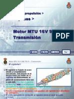3.- MTU 16 V 956 TB 91_03 TRANSMISION