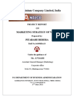 Project Report on Marketing Strategy of Nalco by Pitabash Behera