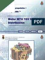 4.- MTU 16 V 956 TB 91_04 DISTRIBUCION