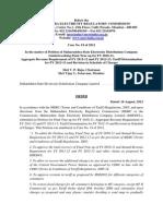 Final Order Case No 19 of 2012
