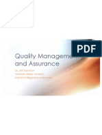 quality management assurance hamilton