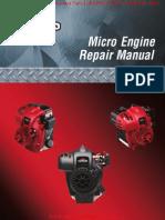 Micro Trimmer Engine Repair Manual BRIGGS & STRATTON