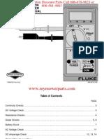 Digital Multimeter Instruction Manual MS6574