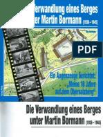 Die Verwandlung Eines Berges Unter Martin Bormann (1936-1945) - von Max Hartmann
