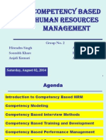 Competency-based Hr Management 747