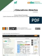 Recursos Educativos Abiertos CEDEC 2014