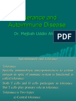 Autoimmunity and Tolerance