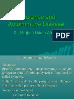 Autoimmunity and Tolerance