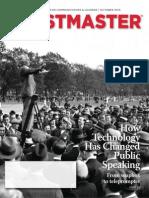 Toastmaster Magazine 2013-10
