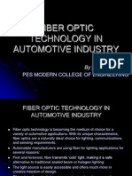Optical Fiber Technology in Automotive Industry