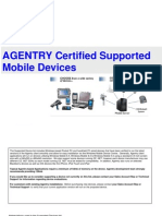 Agentry Supported Devices
