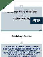Ppt Caretaking Housekeeping