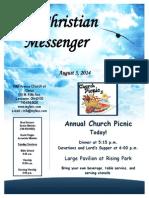 August 3 Newsletter