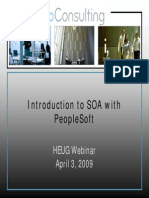 Intro to SOA With PeopleSoft
