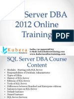 SQL Server DBA Online Training in USA,UK,Canada,Australia