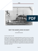 Why the Kaiser Loved His Navy