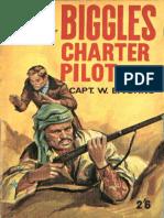 Biggles - Charter Pilot - W E Johns