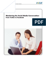Monitoring Social Media Conversation
