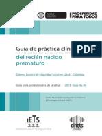 GPC Prematuro