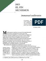 Wallerstein, Immanuel - El Marxismo Despues Del Fin de Los Comunismos