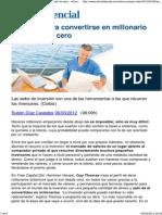 Técnicas Para Convertirse en Millonario Partiendo de Cero - ElConfidencial.com