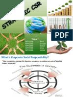 Strategic CSR Presentation