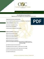 Estructura Administrativa Contraloría
