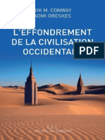 L'Effondrement de La Civilisati - Naomi Oreskes