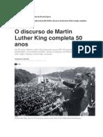 O Dircurso de Martin Luther King