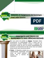 PDF Aula 01 Sociologia Prof