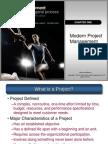 Project Management - Ch 01