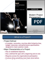 Project Management - Ch 01