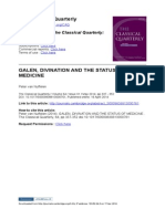GALEN, DIVINATION AND THE STATUS OFMEDICINE.pdf