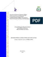 Tcc_identidade Militar-Al of Pm Enio, Matos e Monteiro