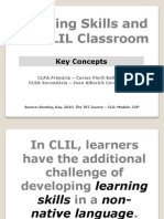 Learning Skills and the CLIL Classroom
