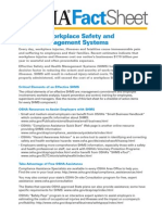 Safety Health Management Systems