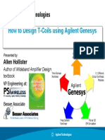 Design of T-Coils using Agilent Genesys.pdf