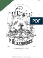 Villanelle XVIII Secolo Pour Piano