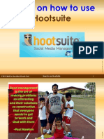 Tutorial on How to Use Hootsuite by April Joy Vicente Torio