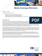 Measuring Media Coverage Effectively