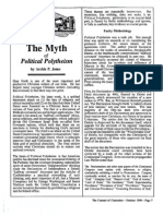 1990 Issue 8 - The Myth of Political Polytheism - Counsel of Chalcedon