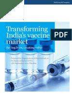 Transforming Indias Vaccines Market