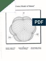 The Vortex Model of Matter